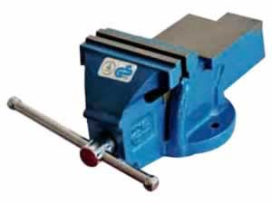 8005 GS series bench vise - fixed with anvil