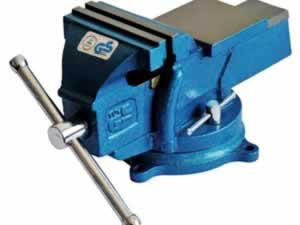8006 GS series bench vise - swivel with anvil