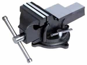 8008 All steel bench vise - swivel with anvil